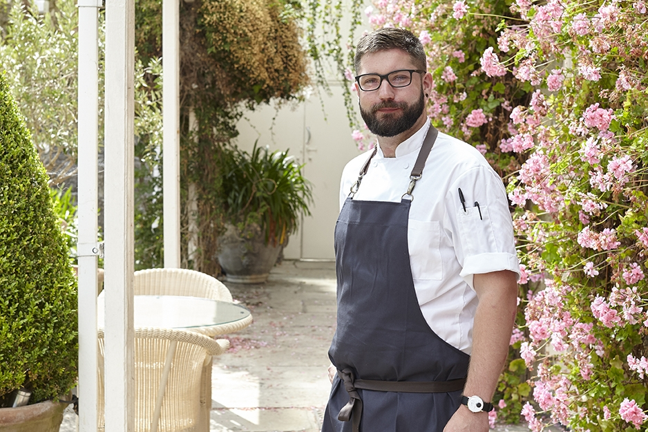 Our new Head Chef: Ben Chamberlain